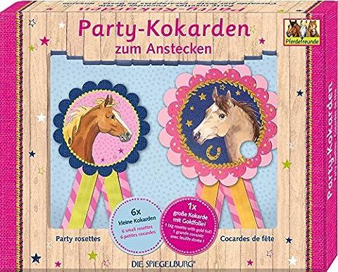 Spiegelburg 13842 Party-Kokarden Pferdefreunde