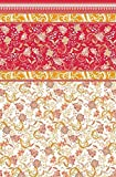 Bassetti Granfoulard.- Bettlaken Michelle V9, 210x280 + Spannbetttücher 135x200 + 1 Kissenbezüge 45x145 cms in Cama 135 (135 x 195/200 cm)