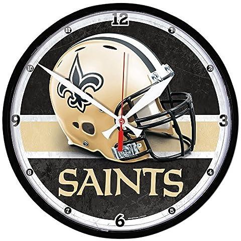 Wincraft NFL NEW ORLEANS SAINTS Helmet Wanduhr (New Orleans Saints Magnet)