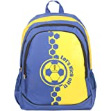 FIFA 40 Ltrs Blue::Yellow School Backpack (MBE-FF002)