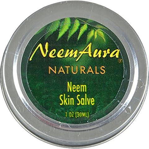 Neem Aura Neem Skin Salve -- 1 oz by Neem Aura