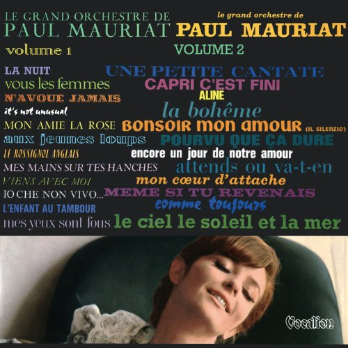 Paul Mauriat-cd (Orchester Paul Mauriat 1 & 2)