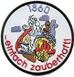 1860 MUNCHEN EINFACH zauberhaft Miraculix Zaubertrank Trikot Aufnäher Patch