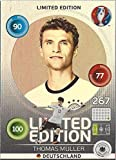 Thomas Müller Deutschland Hero Limited Edition Panini Adrenalyn XL EURO 2016 Sammelkarte Tradingcard Karte Card Checkliste
