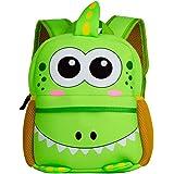 BAIGIO Mochila Infantil Kindergarten,Pequeñas Mochilas Bolsas Escolares de Dibujos Animados Animales para Niñas Primaria Lind