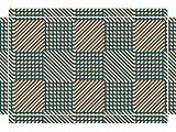 YOURDEA - Sticker für Möbel für IKEA Lack Tisch Beistelltisch Couchtisch mit Motiv: Strömung inklusive Rakel