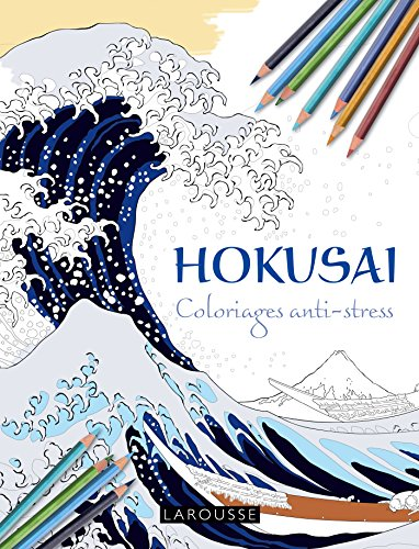 Hokusai coloriages anti-stress (Hors collection Beaux-Arts) por Collectif