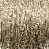 Prettyland - wild gestylter groß Dutt Haarteil Zopf Haarband Scrunchie Haargummi - 27T613 blond gesträhnt