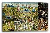 Printed Paintings Impresión Sobre Lienzo (60x40cm): Hieronymus Bosch - El Jardín de Las Delicias