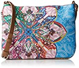 Desigual Mexican Cards Molina Across Body Bag Azul AguaDati:o Materiale: Esterno in poliestere al 100%o Dimensioni: Larghezza circa 31 cm, altezza circa 23 cm, profondità circa 2 cmo Colore: Azul Agua (blu / arancione / rosso)o Fabbricante: Desigual