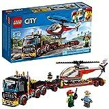 LEGO City 60183 - Starke Fahrzeuge Schwerlasttransporter, Beliebtes Kinderspielzeug -