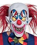 Boland 97532 - Latex Maske Gruseliger Clown, Sonstige Spielwaren