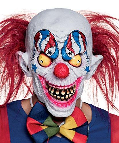 Maske Gruseliger Clown, Sonstige Spielwaren (Clown Maske Kostüm)