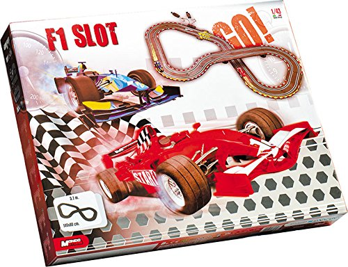 Mondo Motors - 66079 - Circuit Slot F1 Racing + 2 Voitures - Echelle 1/43