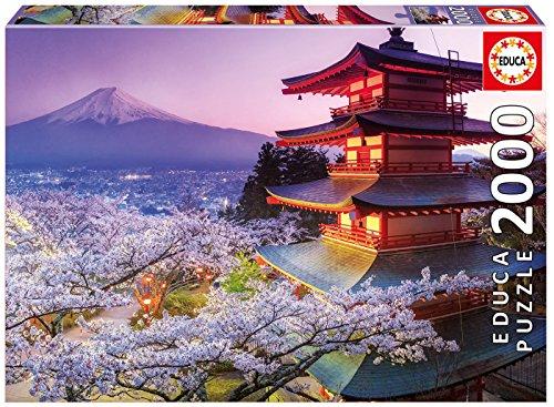 Preisvergleich Produktbild Educa 16775 - 2000 Mount Fuji, Japan, Puzzle