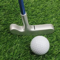 Crestgolf Stainless Steel Two Way Children Bullseye Putter,Golf Club Junior,Right Hand&Left Hand(24inches/27inches/29inches)