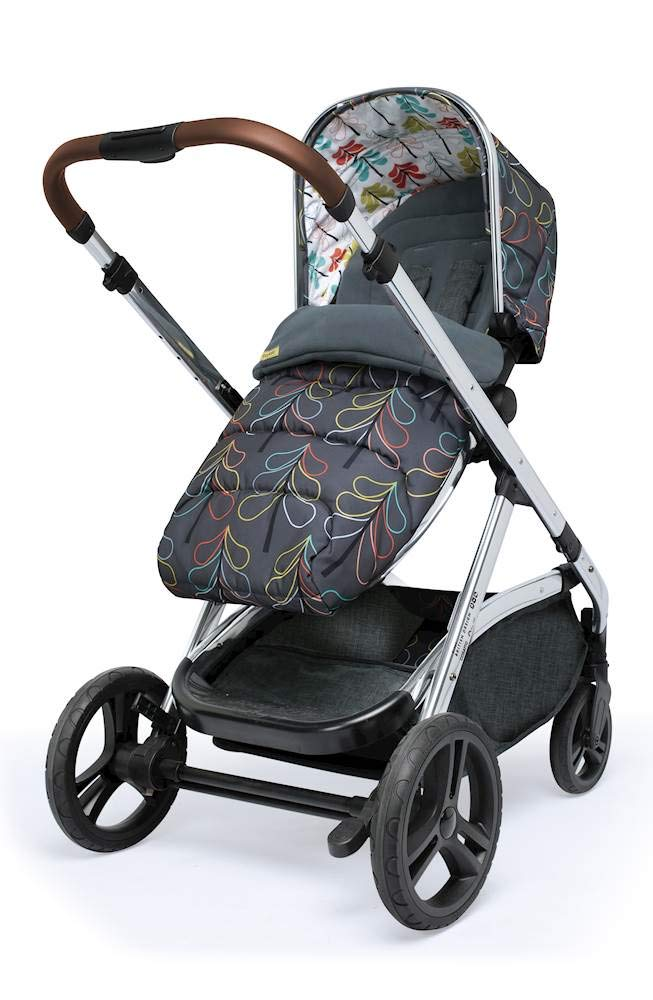 Cosatto Wow XL 3-in-1 Pram and Pushchair, Suitable from Birth - 25 kg, with Tandem Mode and Buggy Board- Nordik Cosatto The flexible family unit, Wow XL has the capability, straight out of the box, to be used as a single child travel system (3-in-1) or as a double/tandem for an older sibling too, with no need to buy any extras (box includes: 1 x Carrycot and 1 x Seat unit) The spacious carrycot is comfy, with extra padded mattress and apron; easy to manoeuvre with one handed pushbutton carrycot release; swap the from-birth carrycot to reversible pushchair seat when they're ready to sit up; the single pushchair mode supports up to 25 kg so your toddler can use it for even longer; with the added ease of one-handed seat unit recline and integrated calf support; the fully extendable hood with visor is 100 UPF and has a peep hole to keep an eye on little ones High-quality craftsmanship; from woven textured fabrics and discoverable details, to gleaming chrome chassis from significant leatherette handle to exquisite embroideries and felt appliques; each design comes with two cuddly travelling companions, straight from Cosatto's famous storytelling pattern; when you explore together, anything can happen 2