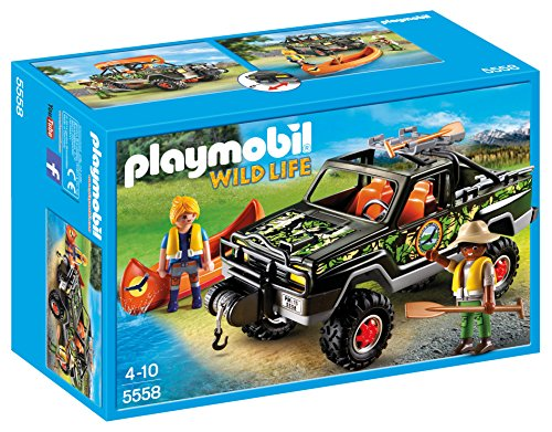Playmobil - Juego Pick up de aventura (55580)