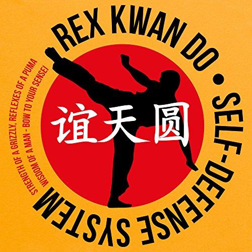 Inspired By Napoleon Dynamite - Rex Kwan Do T-Shirt, Damen Gelb