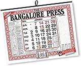 #8: THE BANGALORE PRESS English Calendars (JUMBO) (Pack of 2)