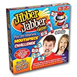Jibber Jabber Party Game - 10 Mouth Guards - The Hilarious Mouthpiece Game for Christmas Loud Board Game Challenge - UK Edition