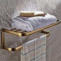 Carolina Trade- Pieno di antico asciugamano rame portasciugamani cremagliera a muro accessori rack Toilette Bagno ( colore : Colore Antico )