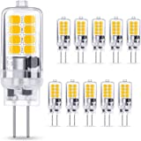 AMBOTHER G4 LED-lamp 3W 250LM, warm wit 3000K 16x 2835 SMD vervangt 30W halogeenlamp, geen flikkering CRI 85, 360° stralingsh