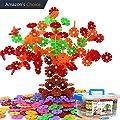 Jeux de construction Jeux et Jouets neige flocon 500 pcs DIY de design Puzzle cubes de construction jouet éducatif pour les enfants