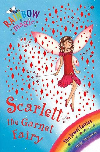 Rainbow Magic: Scarlett the Garnet Fairy Cover Image