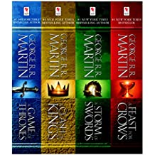 A Game of Thrones 4-Book Bundle: A Song of Ice and Fire Series: A Game of Thrones, A Clash of Kings, A Storm ofSwords, and A Feast for Crows