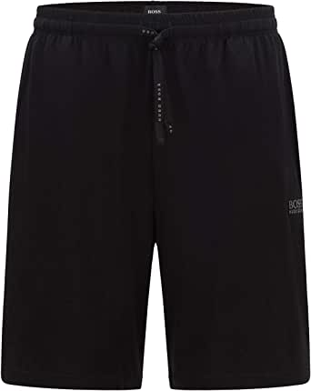 BOSS Mens Mix&Match Short CW Loungewear Shorts in Stretch Cotton with Logo Embroidery