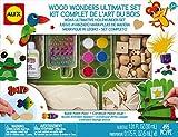 #6: Alex Toys 557 Craft Wood Wonders Ultimate Set, Multi Color