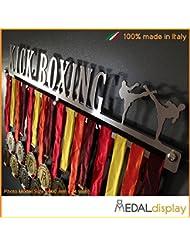 Kick Boxing | Puerta medallas Kick Boxing/medallón de pared medaldisplay Medal Hanger, 750mm x 115mm x 3mm