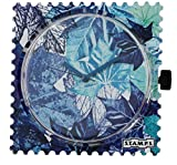 Uhr Zifferblatt - Blue Summer - S.T.A.M.P.S. Uhren 1511044