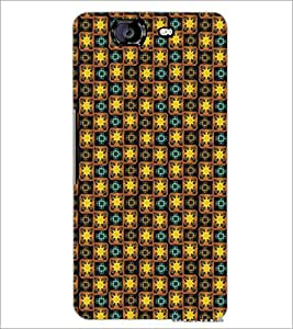 PrintDhaba Pattern D-5344 Back Case Cover for MICROMAX A350 CANVAS KNIGHT (Multi-Coloured)