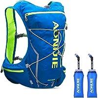 Azarxis 10L Trinkrucksack mit 2L BPA-freie Trinkblase, Laufrucksack Ultraleichter Rucksack für Outdoor, Wandern, Radfahren, Marathoner