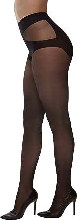 CALZITALY Calze Taglie Forti Con Bikini Opaco | Collant Velato | Curvy By 20 Den | L, Xl, Xxl | Calzeteria Italiana |