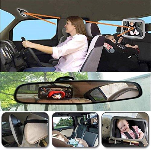 Miroir auto bb pluiesoleil avez une rotation 360100 for Miroir voiture bebe