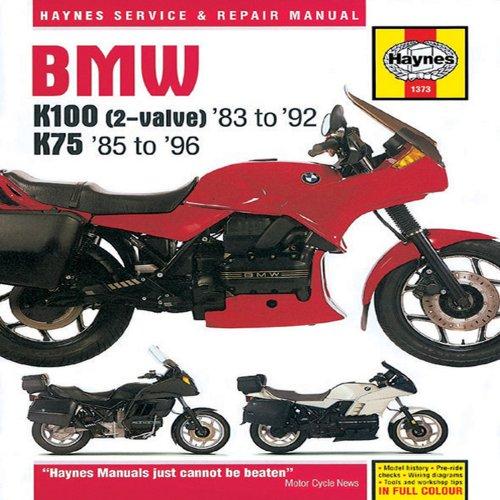 BMW K100(2-Valve)83 to 92 K7585 to 96 (Haynes Service and Repair Manuals)
