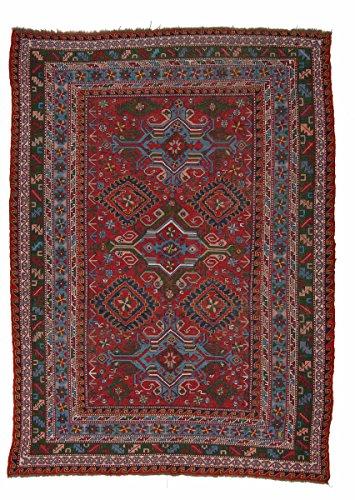 Nain Trading Kelim Soumak 295x213 Orientteppich Teppich Rost/Lila Handgeknüpft Russland -