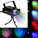 Disco Light Stage Party Light Spotlights LED DJ Lamp Flash Strobe Sound Activated for Decoration Bar