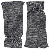 Camano Damen Stulpen Legwarmer & Armwarmer 1p, Grau (Dark Grey 10), One Size