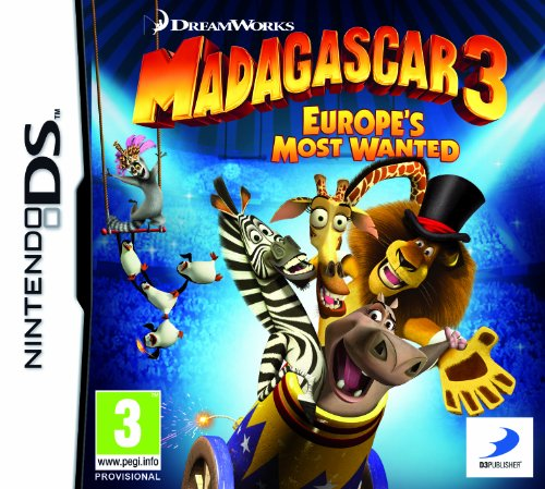 Madagascar 3 (Nintendo DS) [UK IMPORT] (Madagascar 3 Nintendo Ds)