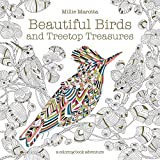 #8: Beautiful Birds and Treetop Treasures (Millie Marotta Adult Coloring Book)