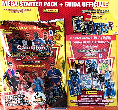 Album Raccoglitore Cards ADRENALYN XL 2019-2020 MEGAPACK calciatori panini