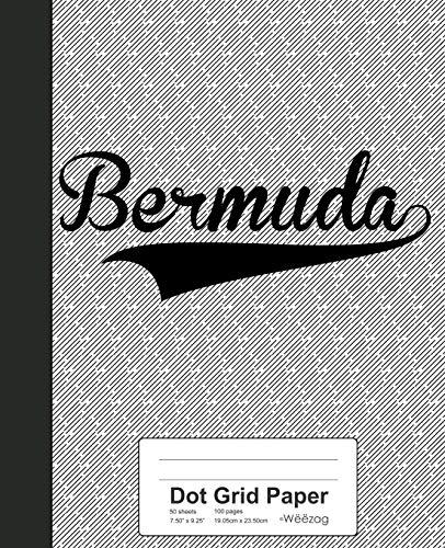 Bermuda-chart (Dot Grid Paper: BERMUDA Notebook (Weezag Dot Grid Paper Notebook, Band 2430))