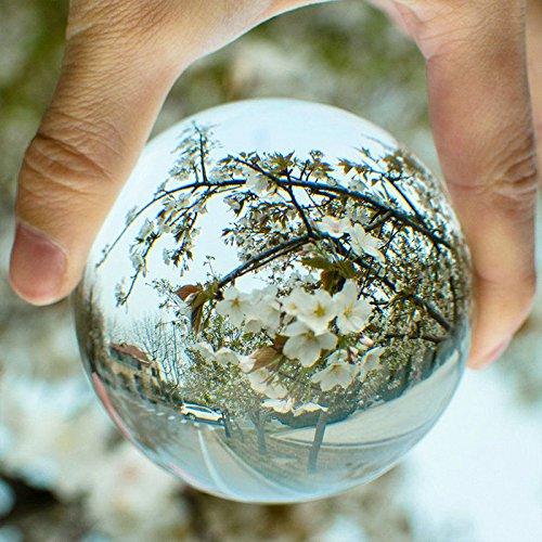 Rosepoem 50mm klar Crystal Ball Art Decor Crystal Prop für Fotografie Dekoration