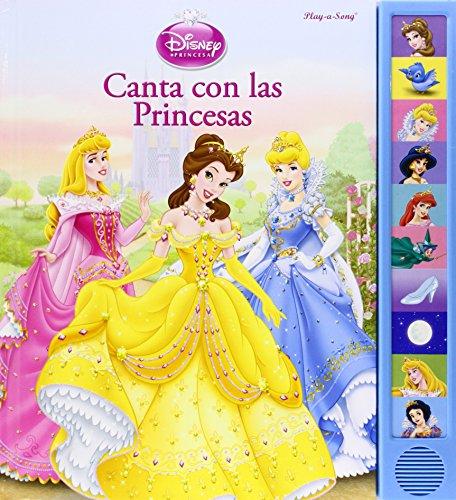 Princesas - Libro Sonido, 10 Botones