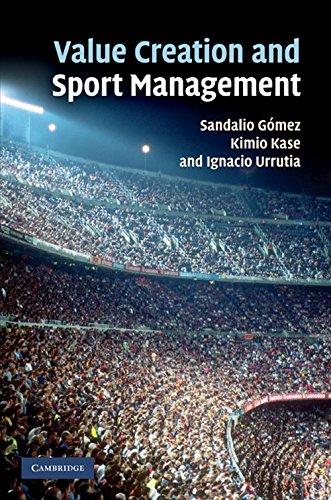 Value Creation and Sport Management Hardback por Gómez