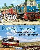 """Gebundenes BuchWie könnte man sich auf einer Weltreise besser bewegen als auf Schienen? Das dachten sich auch Bernd Hasenfratz und Lena Kessler - und berichteten darüber fleißig auf ihrem Reiseblog """"Projekt Fernweh"""". Das Beste daraus erscheint nun im..."""